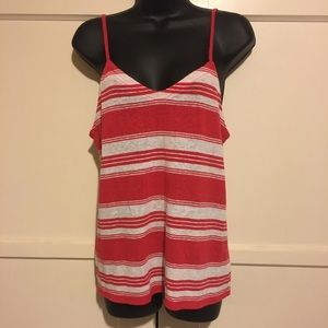 Universal Thread candy striped tank sz small